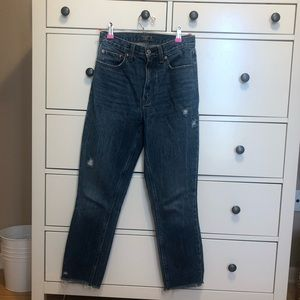 Abercrombie & Fitch mom jeans